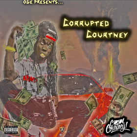 CORRUPTED COURTNEY Cool Courtney front cover