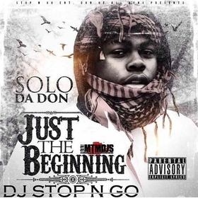 Just The Beginning Solo DaDon front cover