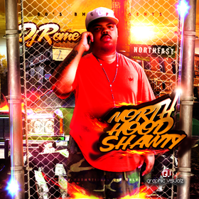NoRthHoOdShawTY DJROME front cover
