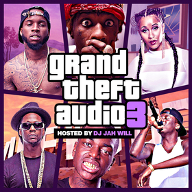 Grand Theft Audio 3 DJ Jah Will front cover