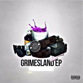 Grimesland EP- Benny Traphouse BGM Suggsy Benz front cover