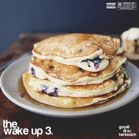 The Wake-Up 3 DJ S.R. front cover