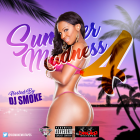 Summer Madness 4 DJ Smoke front cover