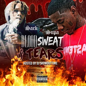 Blood Sweat & Tears Sack & Supa front cover