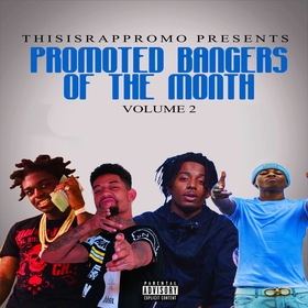 Promoted Bangers Of The Month Vol. 2 ThisIsRapPromo front cover