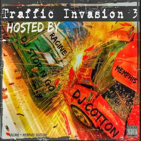 Traffic invasion 3 DJ Stop N Go front cover
