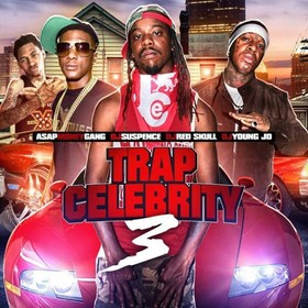 Trap Celebrity 3 DJ ASAP front cover