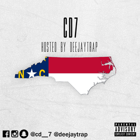 CD7 Carolina Blue Ep Deejaytrap front cover