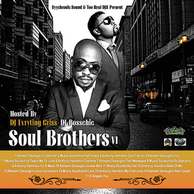 Soul Brothers V1 DJ Evryting Criss front cover