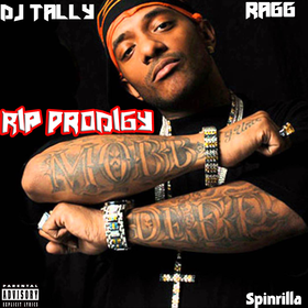 #RipProdigy DJ Tally Ragg front cover