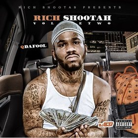Rich Shootah 2 Q Da Fool front cover