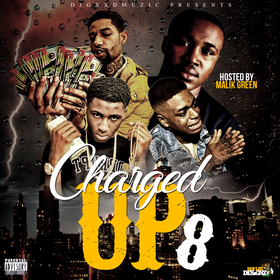 Charged Up 8 DJ Gxxd Muzic front cover