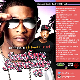 Southern Sexpitality V3 DJ Evryting Criss front cover