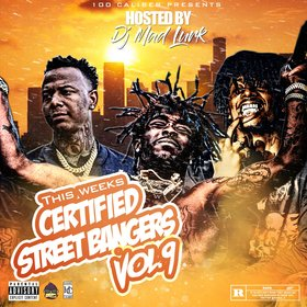 This Week's Certified Street Bangers Vol. 9 DJ Mad Lurk front cover