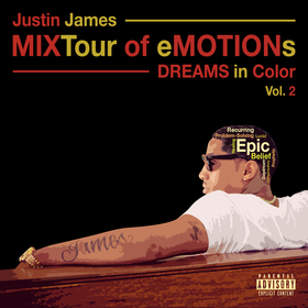 MIXTour of eMOTIONs vol 2 - Dreams in COLOR JUSTIN JAMES front cover