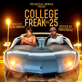 College Freak 25 DJ HB Smooth front cover