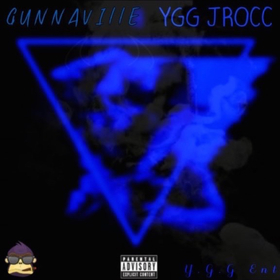 YGG JRocc- Welcome 2 Gunnaville DJ Konnect  front cover