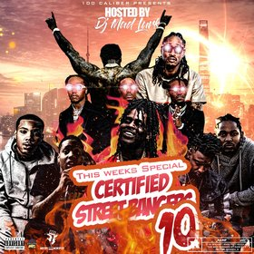 This Week's Certified Street Bangers Vol. 10 DJ Mad Lurk front cover