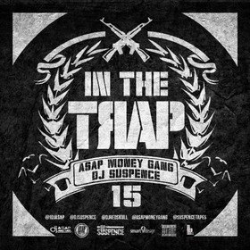 In The Trap 15 DJ ASAP front cover