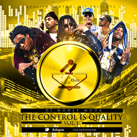 The Control Is Quality Volume 1 DJ Money Mook front cover