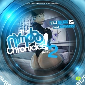 The Nympho Chronicles 2 DJ S.R. front cover