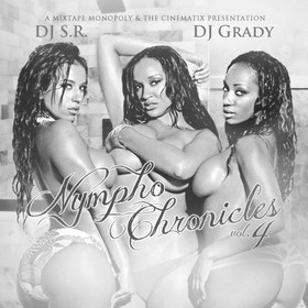 The Nympho Chronicles 4 DJ S.R. front cover