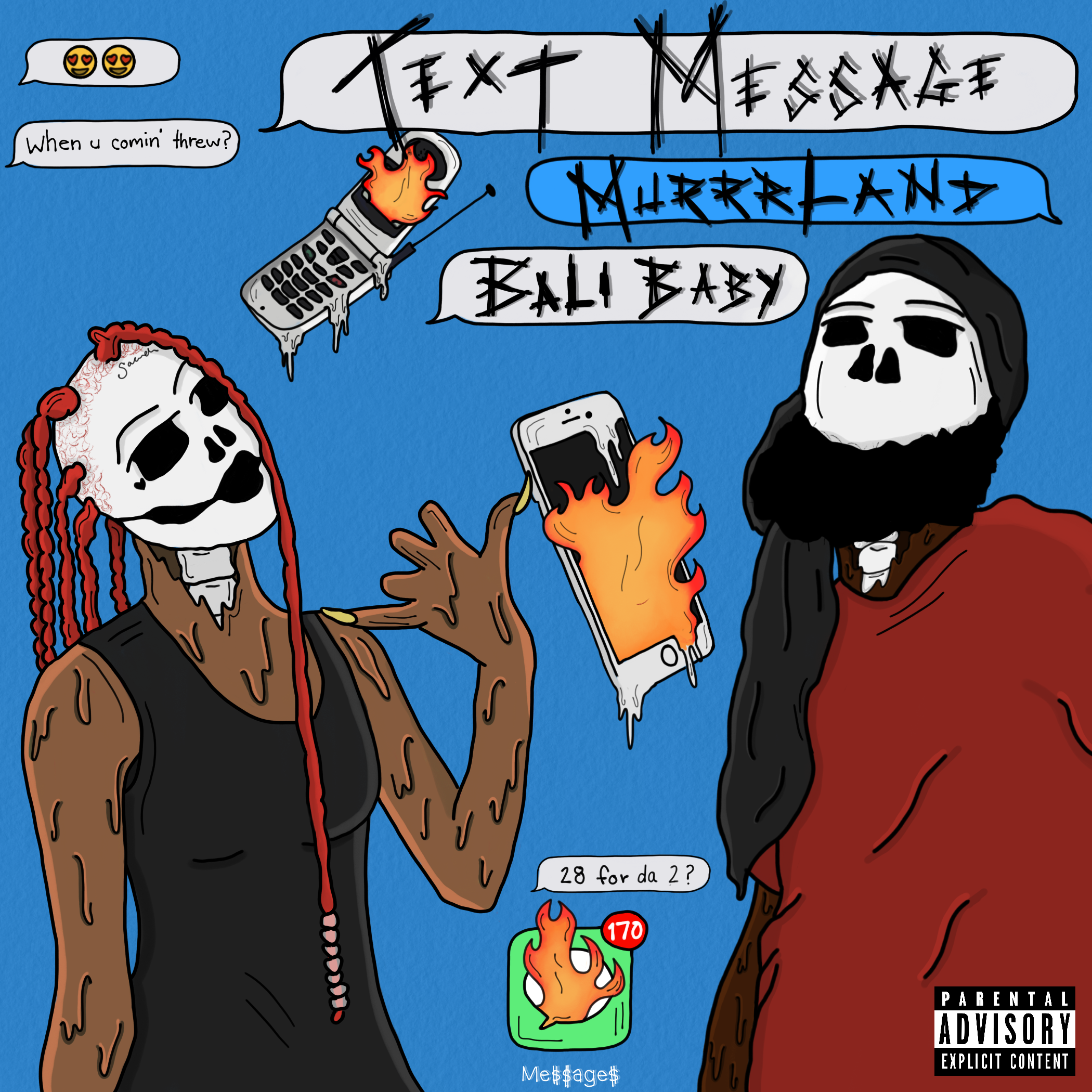 Murrrland Text Message Feat Bali Baby Free Mixtape Downloads
