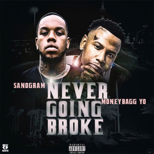 Moneybagg Yo Height: SanOGram - Never Going Broke (Feat. Moneybagg Yo)